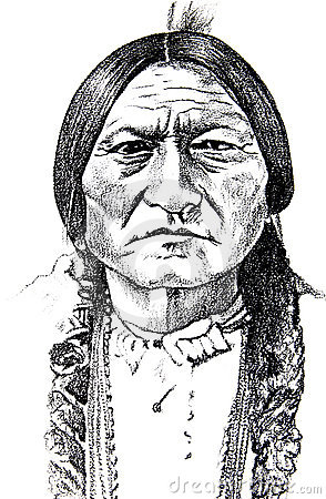 Historical Native American Icon