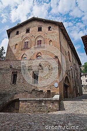 Historical palace of Emilia-Romagna. Italy.