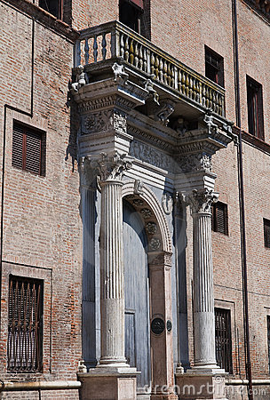 Historical palace of Ferrara.