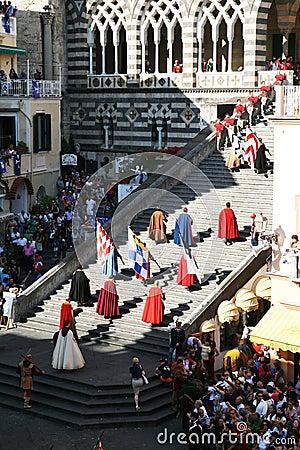 Historical parade Editorial Stock Photo