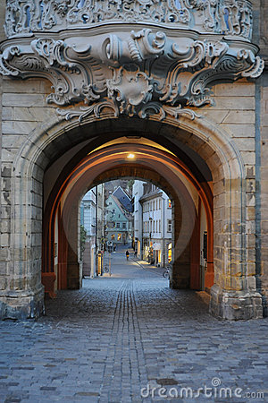 Historical passage in Bamberg Germany