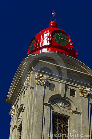 Historical Red Church Dome