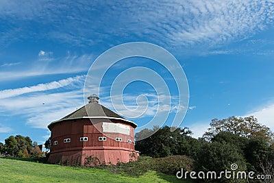 Historical round barn