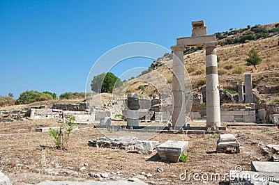 Historical ruins old city sword Turkey
