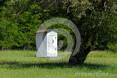 Historical School House Outhouse inSleeping Bear D