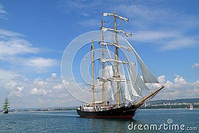 Historical seas Tall Ship Regatta 2010 Editorial Stock Photo