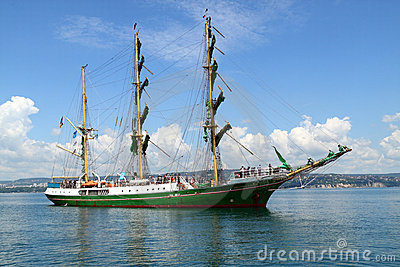 Historical seas Tall Ship Regatta 2010 Editorial Photo
