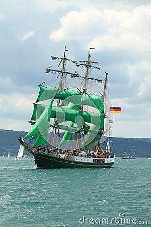 Historical seas Tall Ship Regatta 2010 Editorial Image