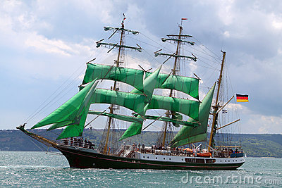 Historical seas Tall Ship Regatta 2010 Editorial Stock Photo