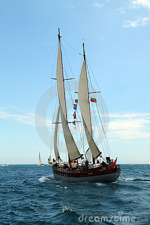 Historical seas Tall Ship Regatta 2010 Editorial Photo