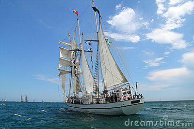 Historical seas Tall Ship Regatta 2010 Editorial Image
