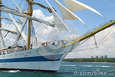 Historical seas Tall Ship Regatta 2010 Editorial Photography