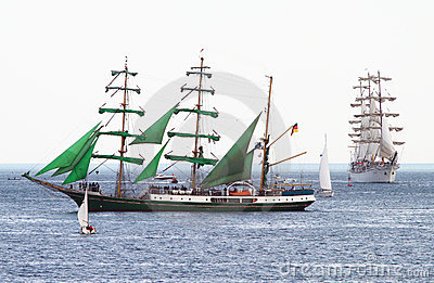 HISTORICAL SEAS TALL SHIPS REGATTA 2010 Editorial Photography