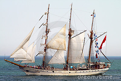 HISTORICAL SEAS TALL SHIPS REGATTA 2010 Editorial Stock Image