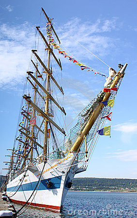 HISTORICAL SEAS TALL SHIPS REGATTA 2010 Editorial Image