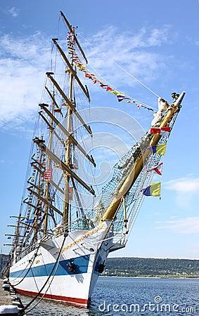 HISTORICAL SEAS TALL SHIPS REGATTA 2010 Editorial Image