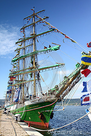 HISTORICAL SEAS TALL SHIPS REGATTA 2010 Editorial Stock Photo