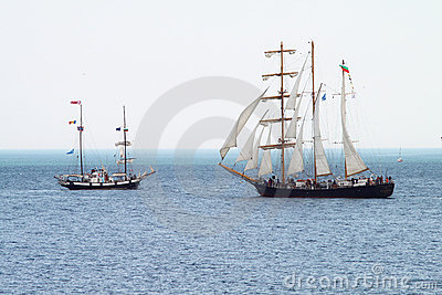 HISTORICAL SEAS TALL SHIPS REGATTA 2010 Editorial Photo