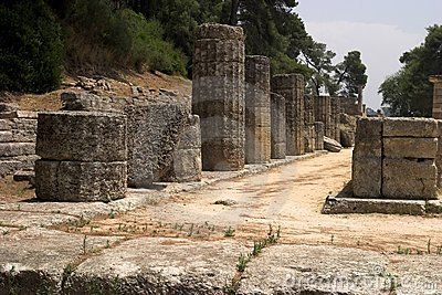 The Historical Site Of Olympia