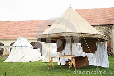 Historical spokes tent