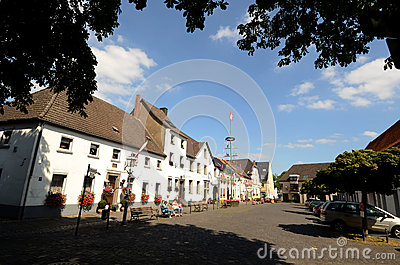 Historical square Linn Editorial Stock Image