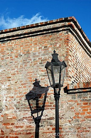 Free Historical Streetlight Royalty Free Stock Image - 3808106