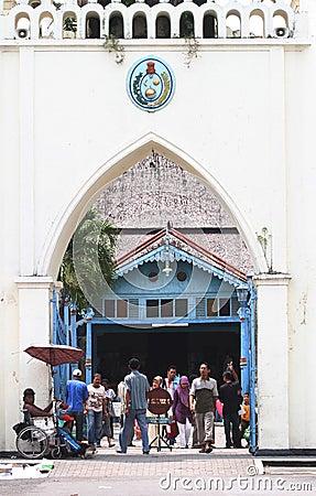 Historical Surakarta mosque Editorial Photography