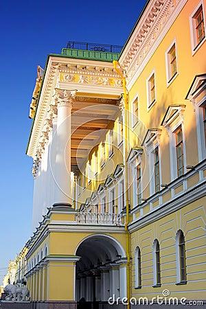 Historical View of Saint-Petersburg