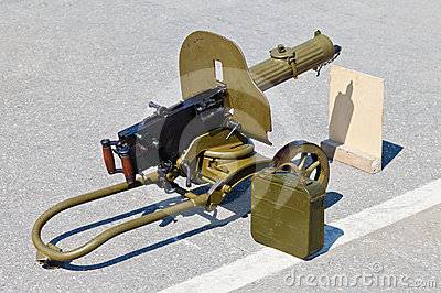 Historical weapon machine gun