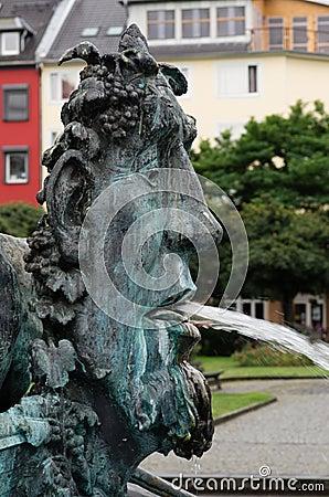 Historiespringbrunn, Koblenz