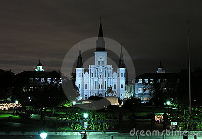 Historisch New Orleans Redactionele Stock Foto