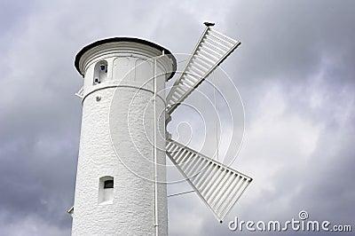 Historischer Leuchtturm in Swinoujscie, Polen