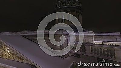 Historisches Denkmal arhitektury stock footage
