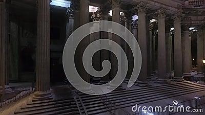 Historisches Denkmal arhitektury stock video footage