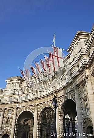 Historiska London Redaktionell Arkivbild