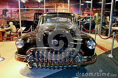 History of Automobiles at Smithsonian, Wash. DC. Editorial Image