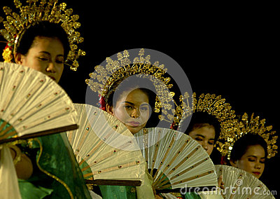 HISTORY OF DANCE IN INDONESIA Editorial Stock Photo
