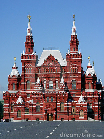 Free History Museum At Red Suare In Moscow Stock Image - 26851