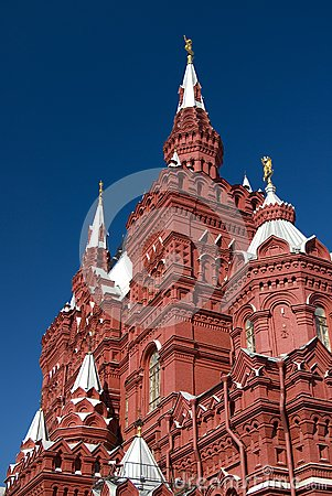 History Museum at the Red Square in Moscow