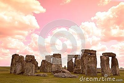 Historyczny Stonehenge miejsce