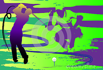 Hit show golf swing