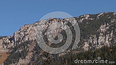 Hitlers Kehlsteinhaus, bei Obersalzberg, Berchtesgaden, Bayern, Deutschland in Europa stock footage