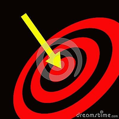 Hitting target