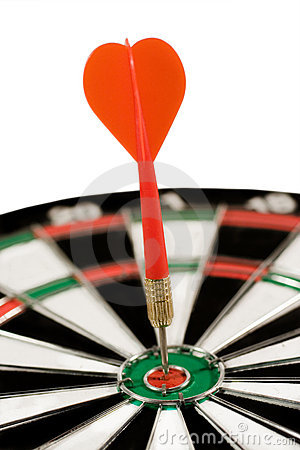 Free Hitting The Target Stock Photography - 10303042