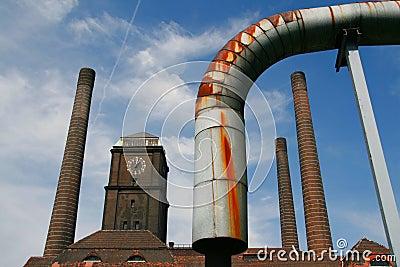 Hitze und Kraftwerk