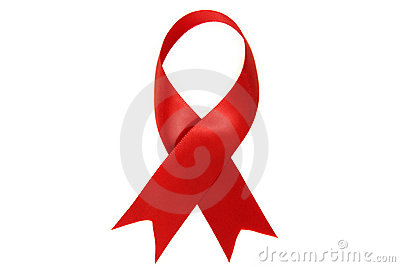 HIV and AIDS Awareness Red Ribbon