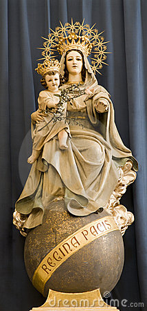 Hl. Mary from Vienna church