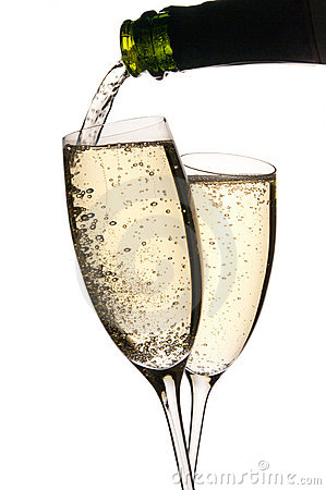 Hällda champagneexponeringsglas