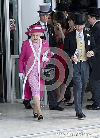 HM Queen Elizabeth Editorial Stock Image