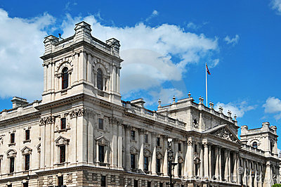HM Treasury headquarters in London, United Kingdom